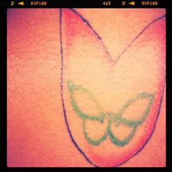 Instagram tattoo by Nickyrockit