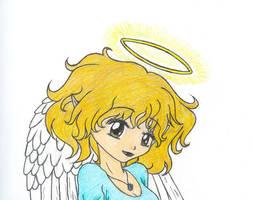 Angelic Smile by KiTSUNEMAGiC1