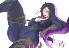 Kai'sa League of legends by KitsuneArts34