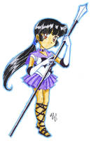 SMOCT chibies -Sailor Charon- by nephrite-butterfly