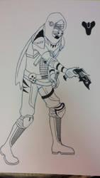 destiny hunter by MichaelDickey