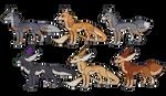 DOG BATCH V [OPEN] by AizDraws-Adoptables