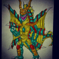 Erickzilla Tyrant by Cupercrusader