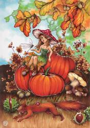 Autumn Sprite by Ethlinn