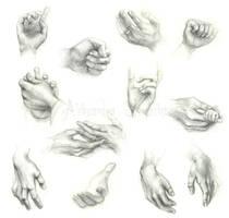 Hands by Ethlinn
