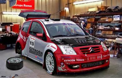 Citroen C2 Rally by Minu88