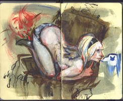 Sketchbook Page by nigillsans