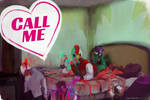 Hot Date Miami by nigillsans