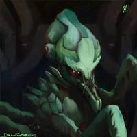 FTL Mantis by nigillsans