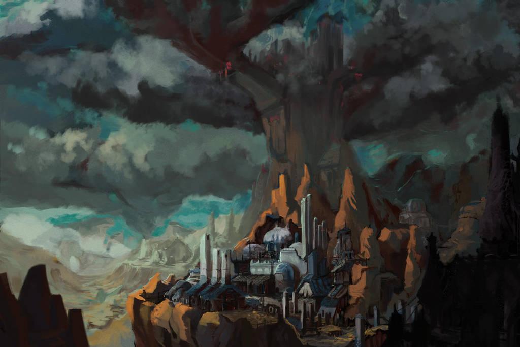 Mountain Kingdom by nigillsans