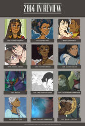 2014 Summary of Art by kamidoodles