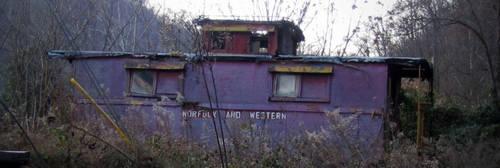 Caboose, Verda, Kentucky... by billndrsn