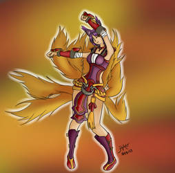 Ahri's Dance by Hao-76