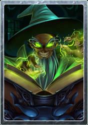 Card design - Magician by LightBlackStudios