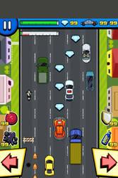 Mockup screenshot - dodging racer - in game by LightBlackStudios