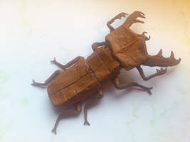 Stag beetle 3.5 - finally! by PeteriDish