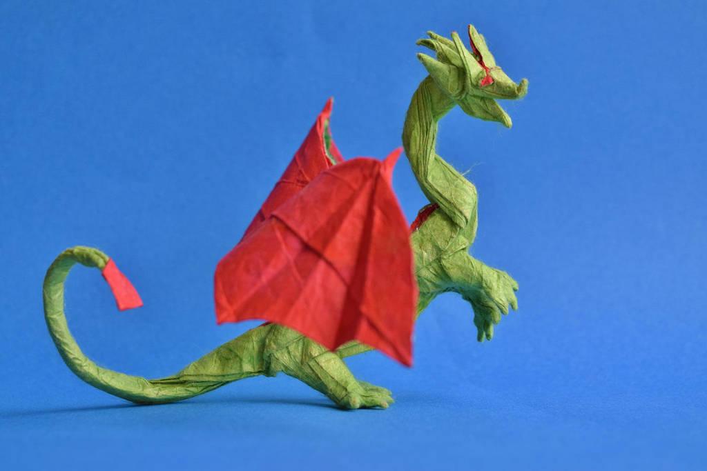 Western Dragon by PeteriDish