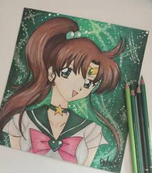 Sailor Jupiter by Dpotrait