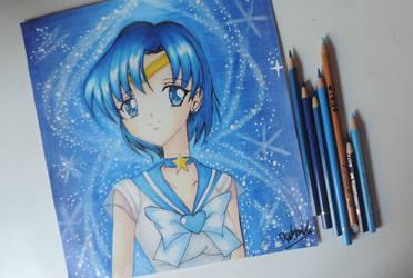 Sailor Mercury by Dpotrait