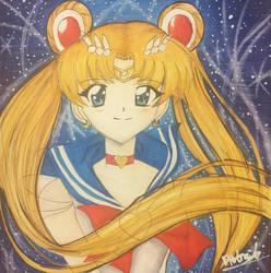 SailorMoon Super S by Dpotrait