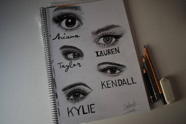 Celebrities's Eyes by Dpotrait