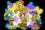 Teenage Mutant Ninja Turtles by trujayy