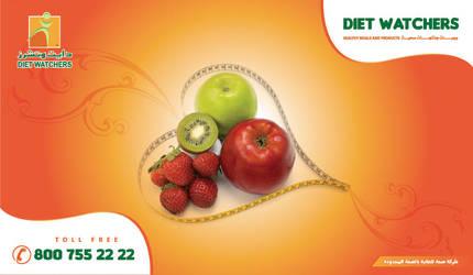 Diet Watchers poster II by Roofizone