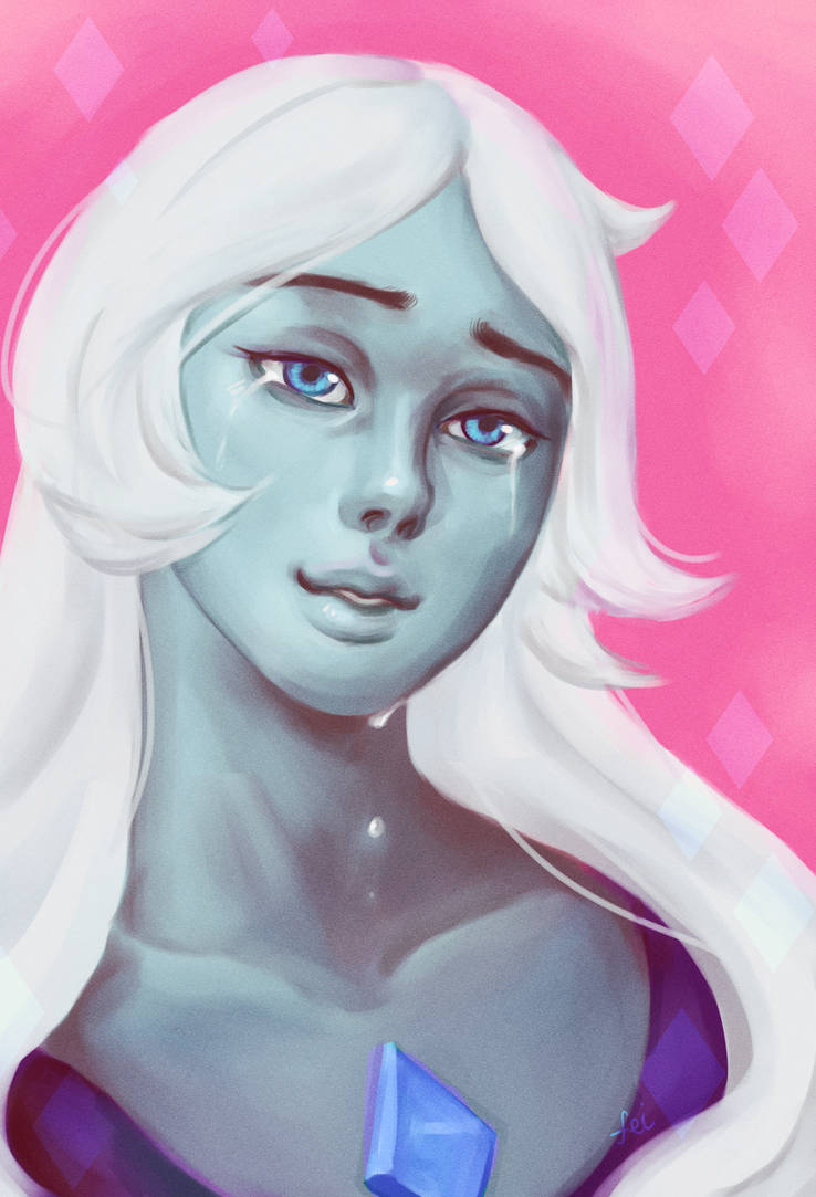 blue diamond <3