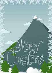 Merry Christmas greeting card by CosminGX