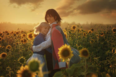 Howl's moving castle: by MiraMarta