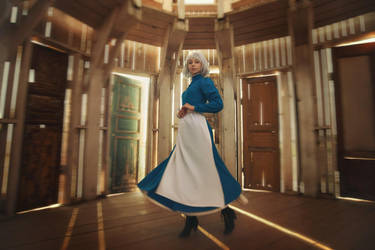 Howl's moving castle: Choosing the door by MiraMarta