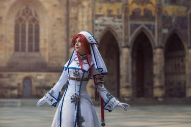 TRINITY BLOOD: The Lord take care of you by MiraMarta