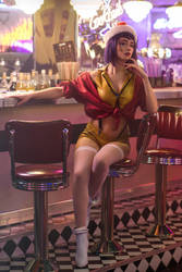 COWBOY BEBOP: Faye Valentine by MiraMarta