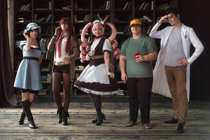 Steins Gate - Dr. Pepper unites by MiraMarta