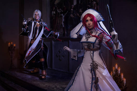 TRINITY BLOOD: unexpected turn of history by MiraMarta