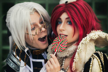 TRINITY BLOOD: sweet tooth by MiraMarta