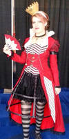 Steampunk Queen of Hearts Cosplay by ashesonfire