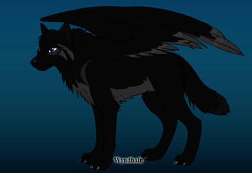 A  wolf design from wolf maker by ArtIsMyLife321
