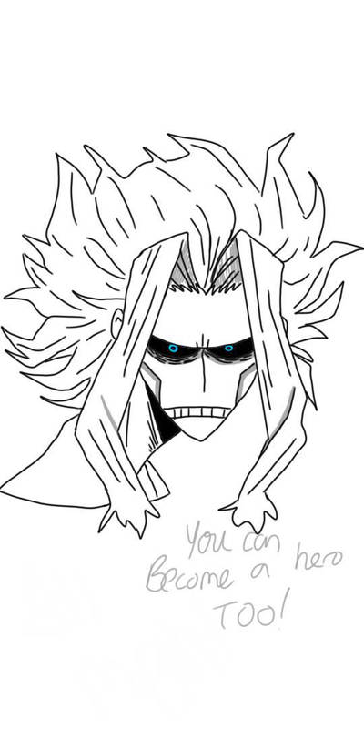 all might by Artlover030