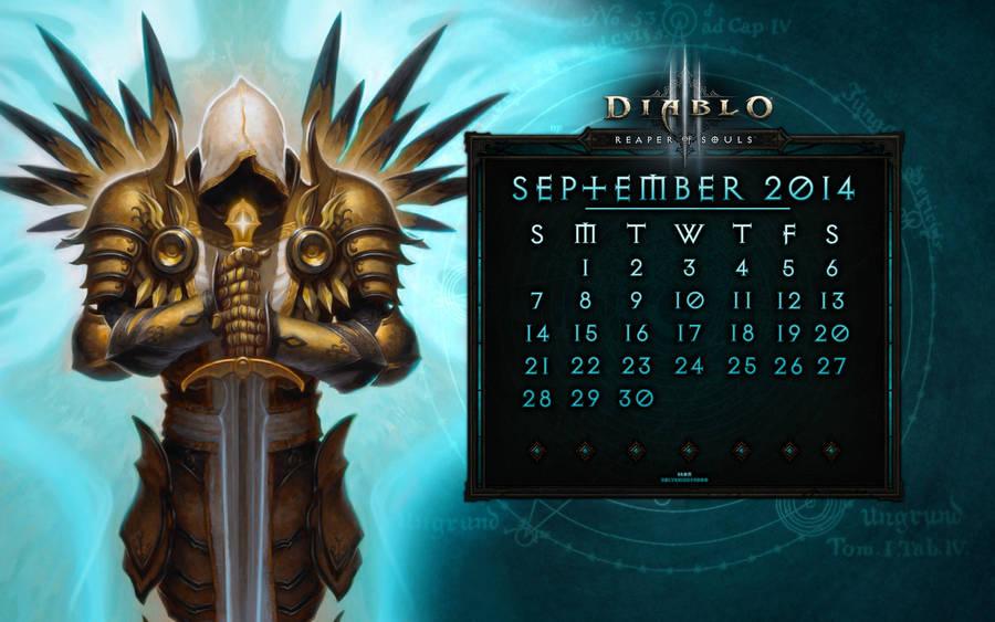 Caldendar #4: September 2014 by Holyknight3000