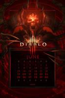Calendar Mobile #8: Universal June by Holyknight3000