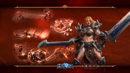 HotS#9: Sonya: Wandering Barbarian by Holyknight3000
