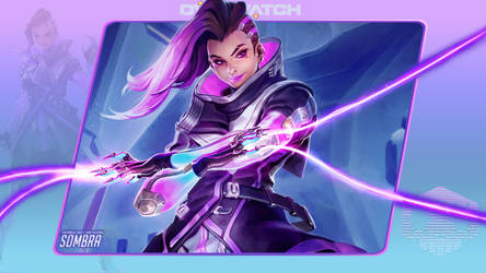 Overwatch #6: Sombra by Holyknight3000