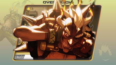 Overwatch #7: Junkrat by Holyknight3000