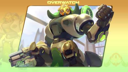 Overwatch #9: Orisa by Holyknight3000
