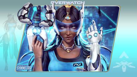 Overwatch #10: Symmetra by Holyknight3000