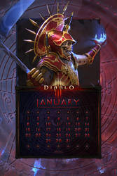 Cal. Mobile #31: Uni Jan. Necromancer vs Diablo by Holyknight3000
