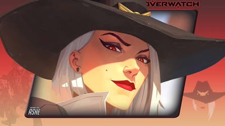 Overwatch #13: Ashe by Holyknight3000