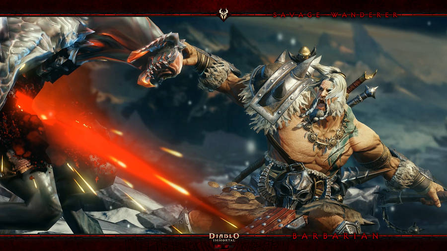 Diablo Immortal #5: Barbarian by Holyknight3000