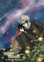 Yoite and Miharu_ sky night by daotrang91